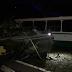 На Донеччині БТР врізався в автобус, є жертви (ФОТО)