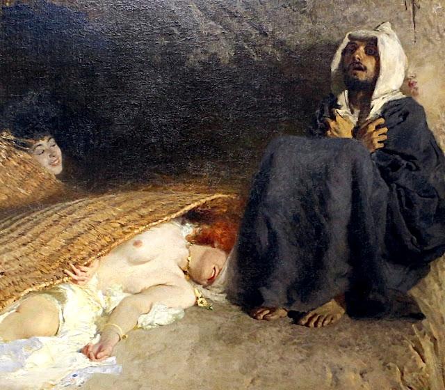 Domenico Morelli: Le tentazioni di sant'Antonio