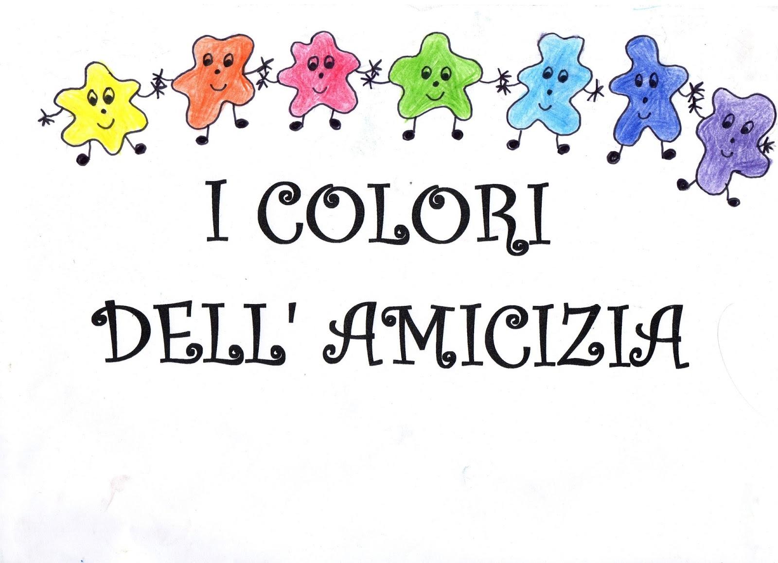 Maestra Mariangela Racconto I Colori Dell Amicizia