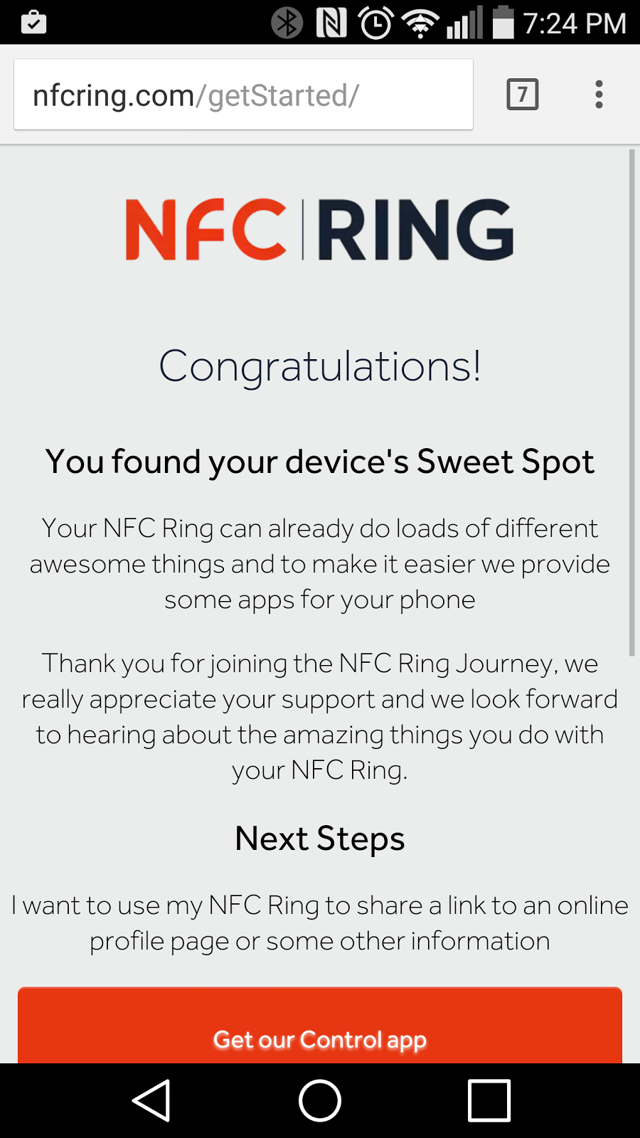 NFC Ring brings a different feel on a 'wearable' ~ Android