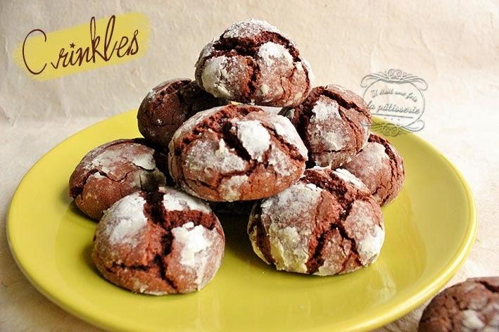 Gateau avec reste de biscuit au chocolat