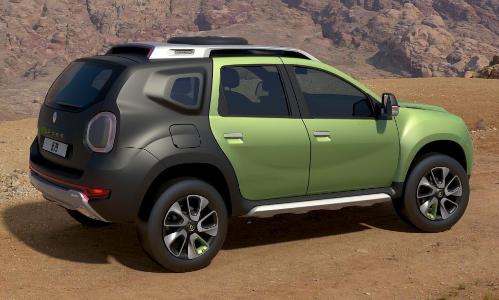 Renault DCross Concept, cuando el Duster se hizo guerrero : Autoblog ...