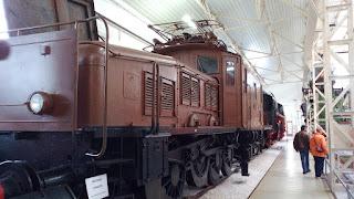 "Lokomotive ""Krokodil"" im Technikmuseum Speyer"