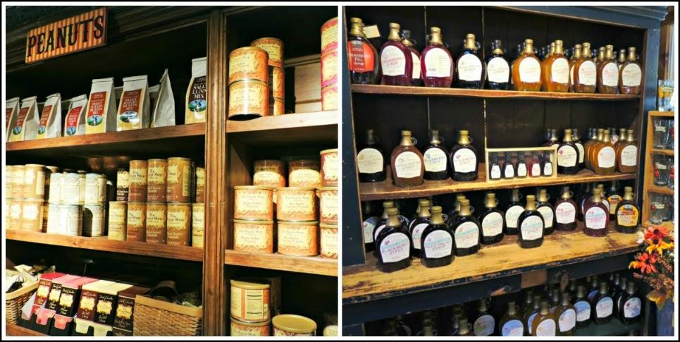 Yankee Candle Village: Comida en la Country Kitchen Pantry