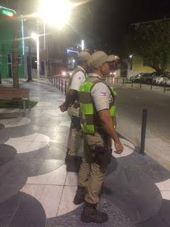 Policiamento reforçado no Largo de Santana