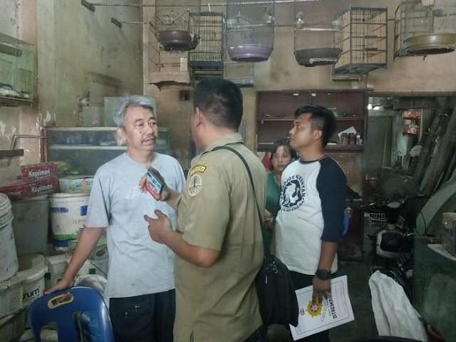 Polisi Razia Toko Hewan Jalan Bintang Medan, 2 Ekor Burung Diduga Nuri Diamankan