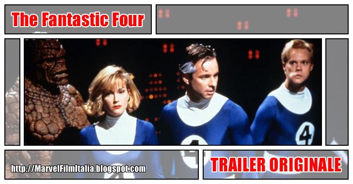 Marvel Film Italia: The Fantastic Four (1994) - Trailer originale