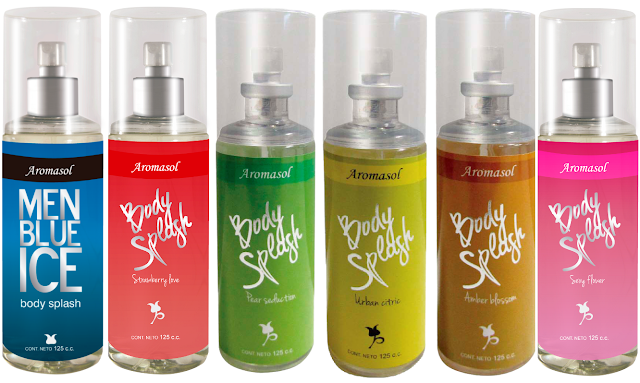 Body splash Aromasol