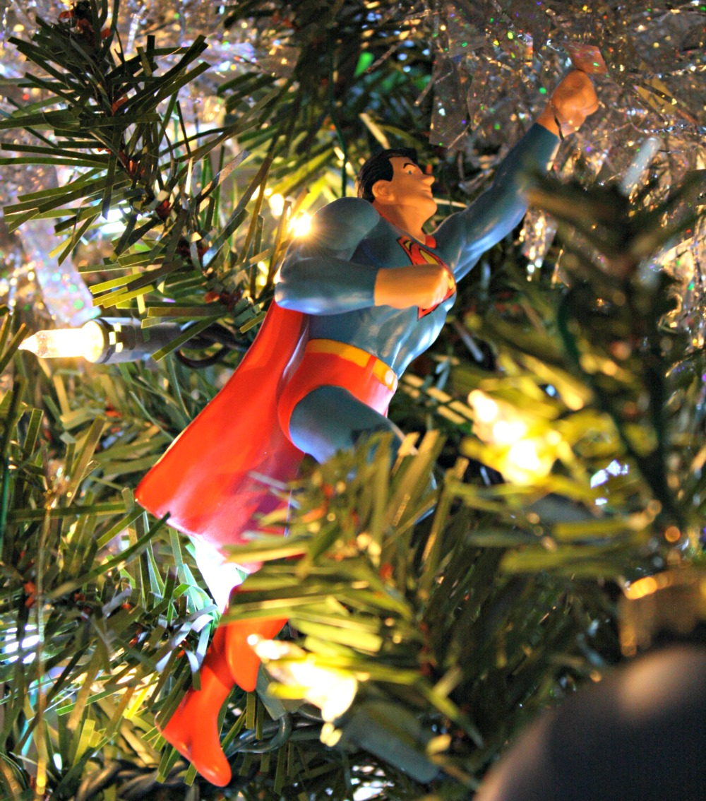 Hallmark family tree ornaments - Once Aaron Joined The Family My Mom Picked Up On His Interests Comic Books And Superheroes And Went To Hallmark For A New Superhero Ornament Every Year