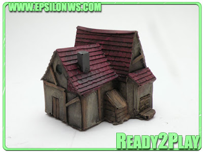 New Epsilon Fantasy/Medieval buildings available at Pendraken Miniatures