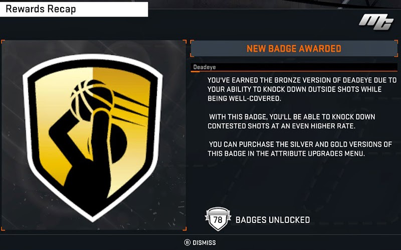 NBA 2K15 MyCareer - Requirements for Each Badge