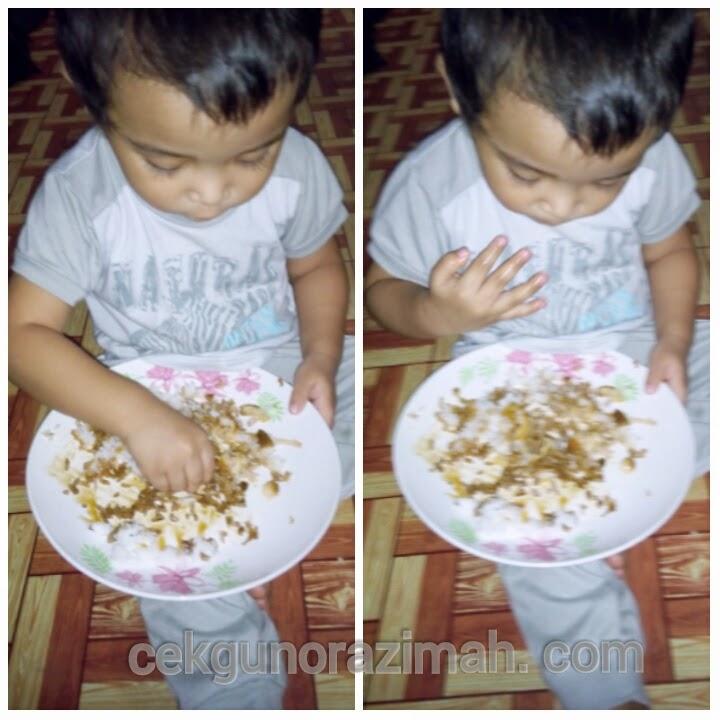 anak kuat makan