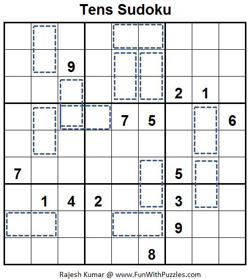 Tens Sudoku (Fun With Sudoku #54)