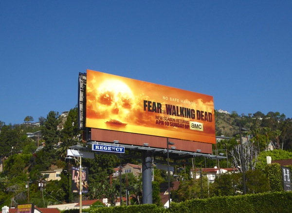 Fear Walking Dead season 2 billboard