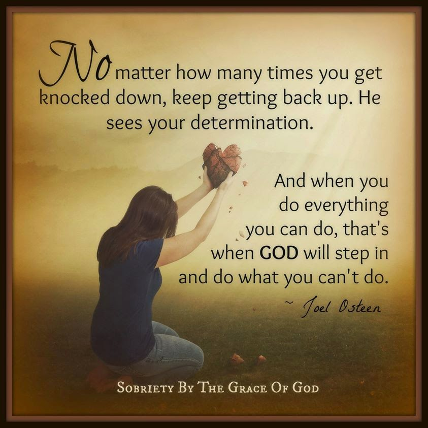 Bible Verses About Determination: No Matter How Many Times You Get Knocked Down, Keep