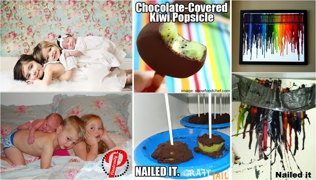 20 Hilarious Pinterest Fails Diy Craft Projects