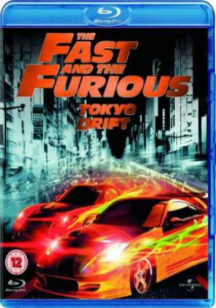 The Fast & the Furious Tokyo Drift 2006 BRRip 350MB Dual Audio 480p