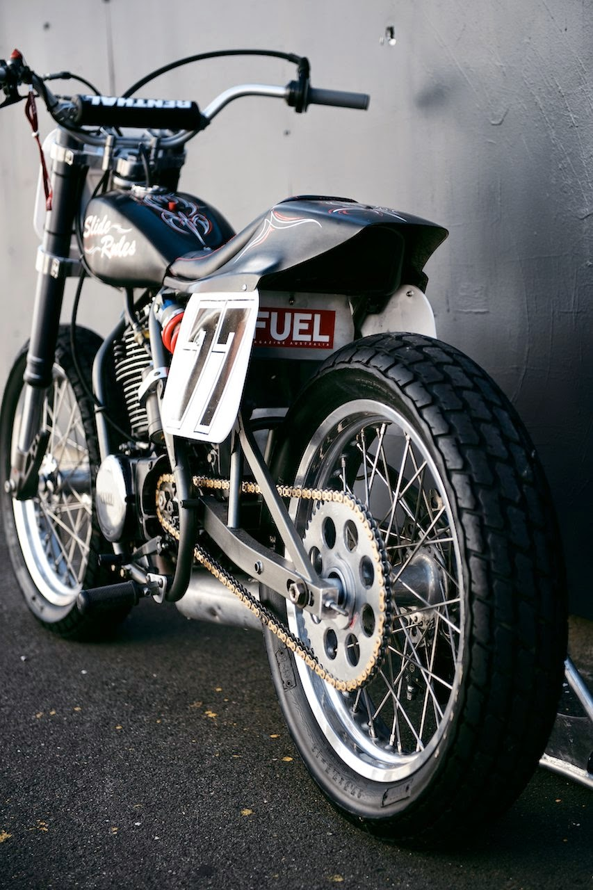 Yamaha 500tt american dirt track racer rocketgarage for Dirt track garage