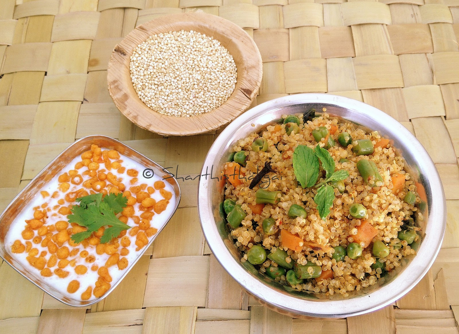 How to make  Quinoa biryani?, How to make Quinoa vegetable biryani?