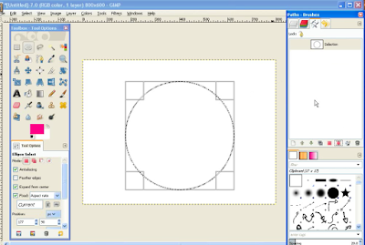 Membuat Teks / Tulisan Melengkung di GIMP1