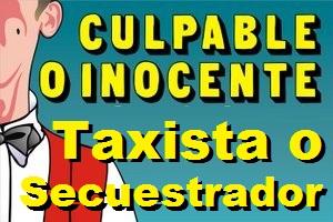 ¿Taxista o secuestrador?