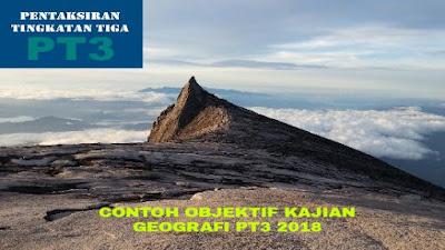 Contoh Objektif Kajian Geografi PT3 2018
