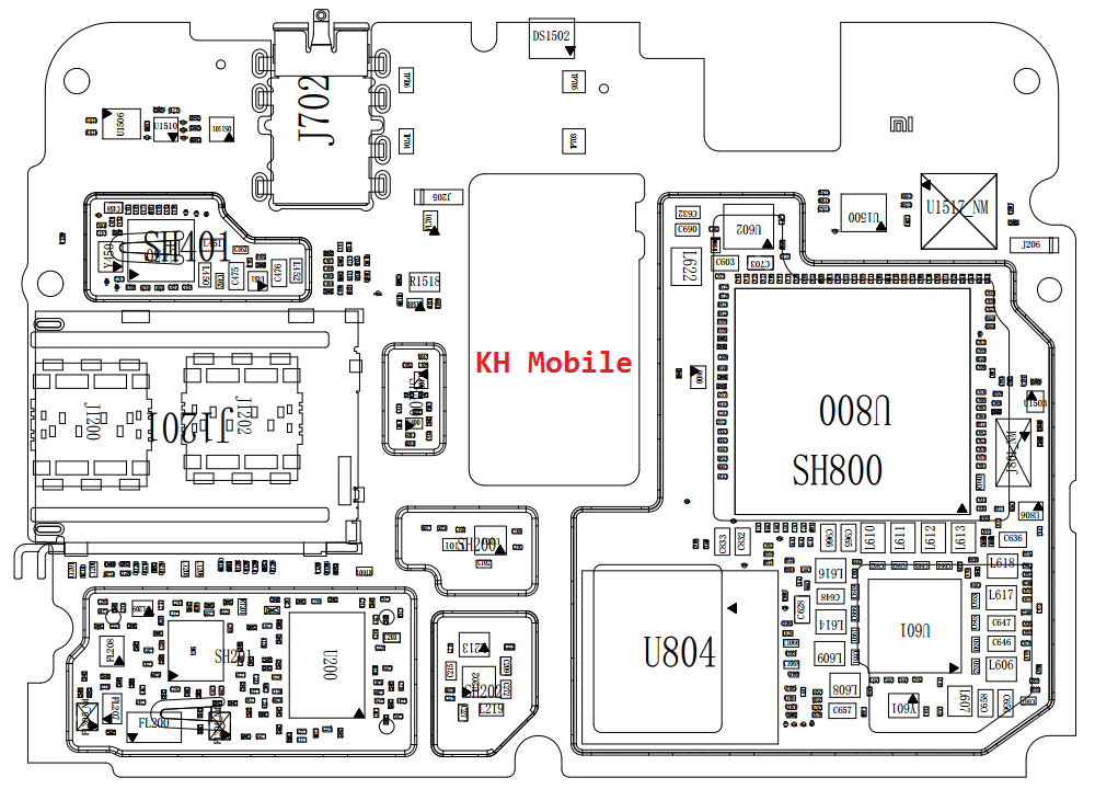 Xiaomi Mi 5S Plus Schematic & Layout Diagrams  JMH