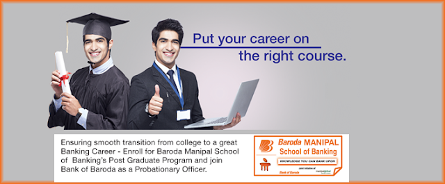 Bank of Baroda Manipal PG Certificate Certificate in Banking and Finance