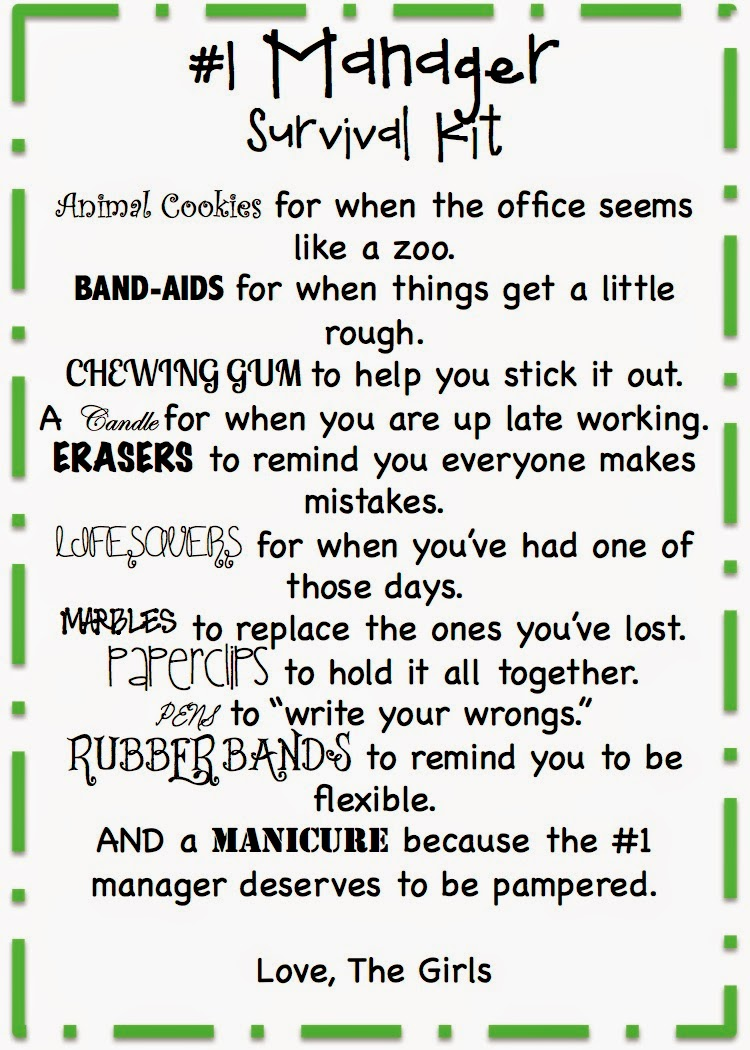 Manager Survival Kit