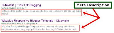 Cara Menambahkan Meta Description Pada Blog