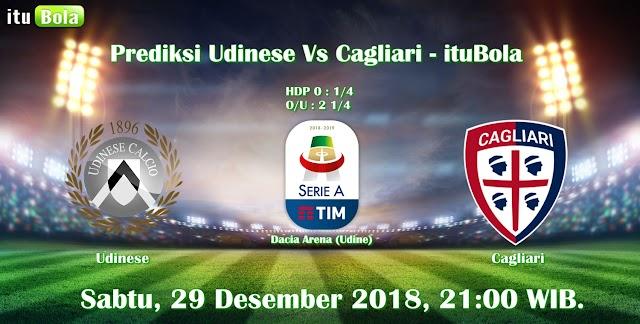 Prediksi Udinese Vs Cagliari - ituBola