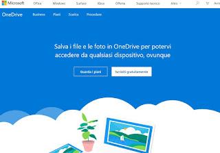 Sito OneDrive