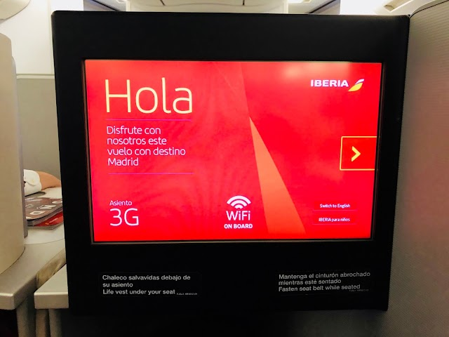 Review: Iberia IB6274 Business Class A330 Chicago to Madrid