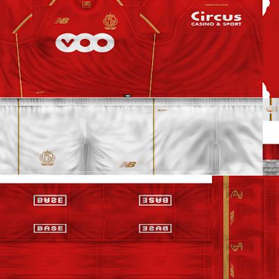 PES 6 Kits Standard Liège Season 2018/2019 by Ignaxx
