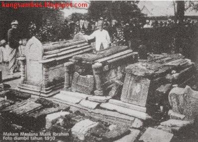 Makam Sunan Gresik Tahun 1910 (sebelum dipugar)