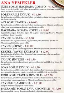 kahveci hacibaba menu fiyat