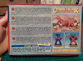 Citadel Colour Paint Set 1994 - Back Closed