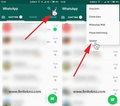 mengatasi akun whatsapp yang disadap 3