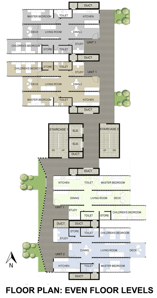 01-Plans-Configuration-Floors-Ganti-and-Associates-Architecture-Recycled-Container-Skyscraper-Homes-www-designstack-co