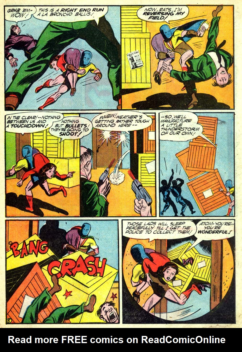 Read online All-American Comics (1939) comic -  Issue #57 - 31