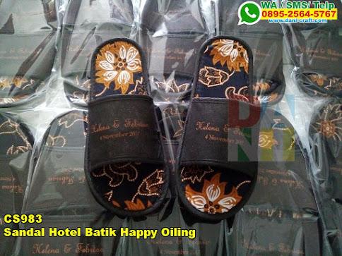 Toko Sandal Hotel Batik Happy Oiling