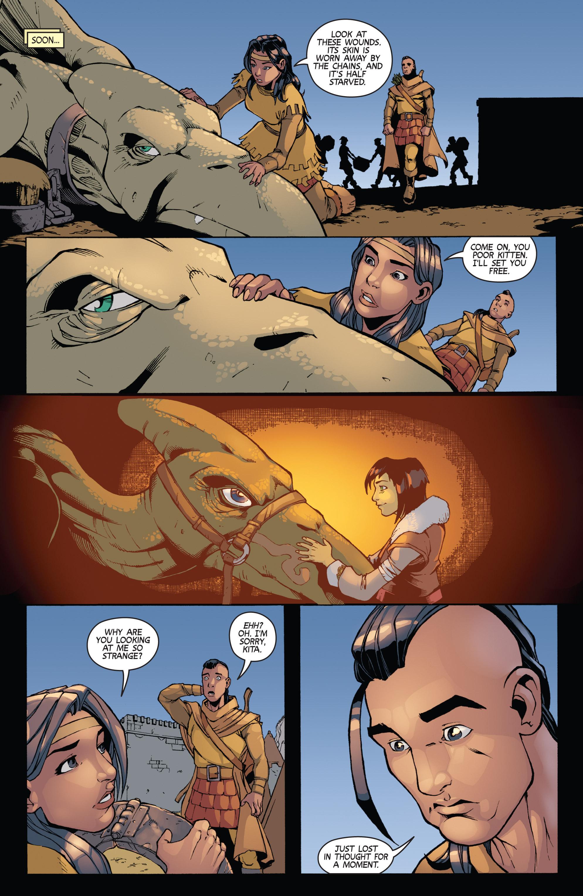 Read online Turok: Dinosaur Hunter (2014) comic -  Issue # _TPB 3 - 57