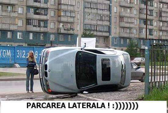 parcare laterala