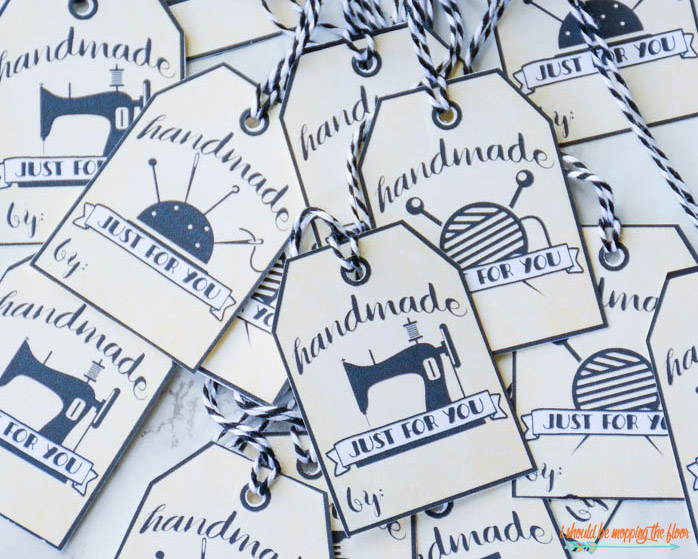 Printable Handmade Tags
