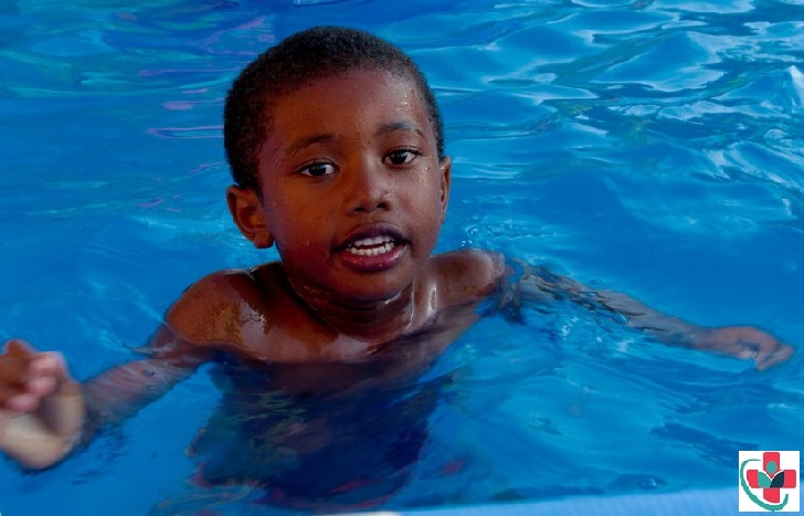 Swimming is the perfect way that kids can stay healthy, and active while having fun!