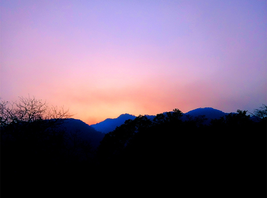 travel, sunset,incredible India, uttrakhand