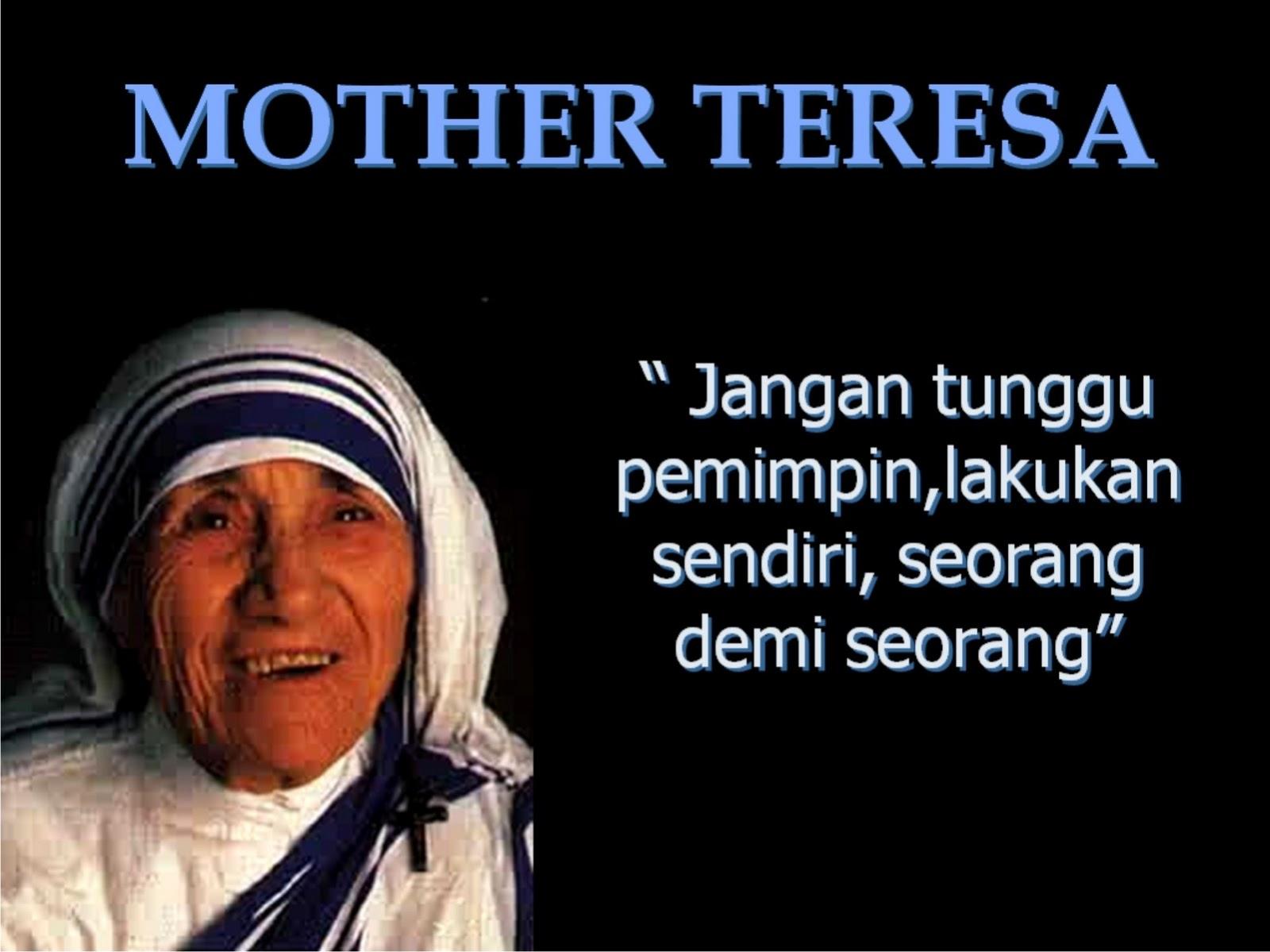 Kata Mutiara Terbaru 24 5 Kata Bijak Bunda Teresa Images