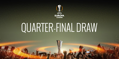 uefa europa league quarter-final draw arsenal