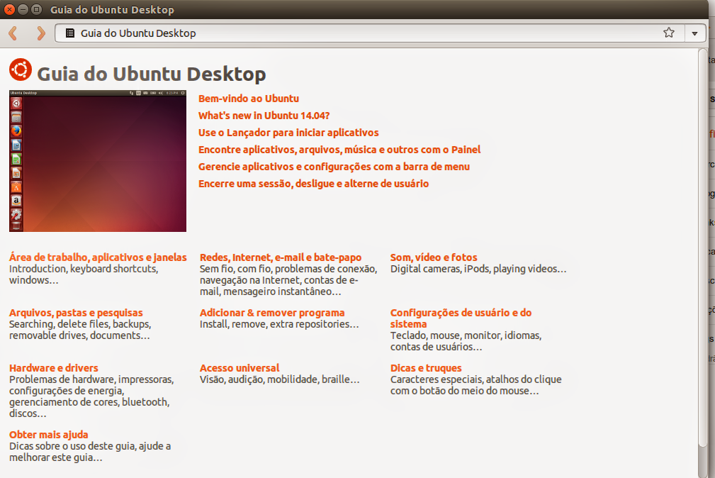 Guia do Ubuntu Desktop