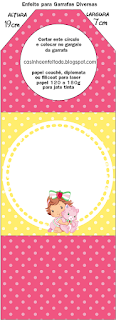 Strawberry Shortcake Baby Free Printable Party Kit.